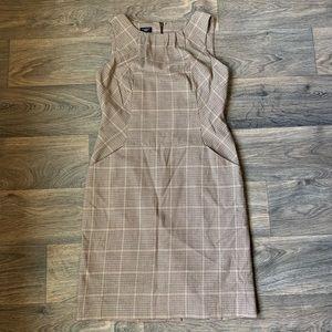 Talbots Size 8P Beige Dress